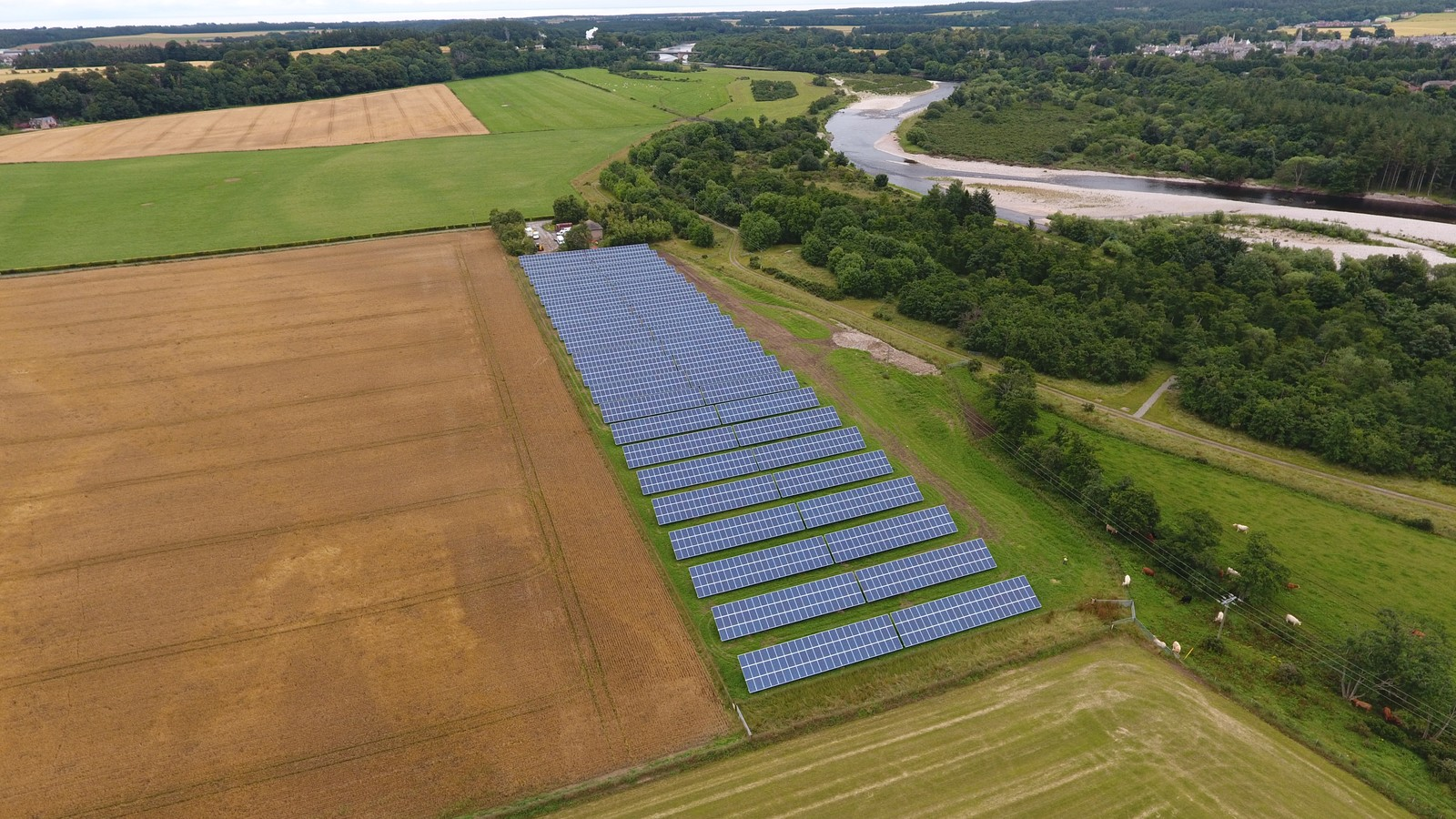 Absolute Solar Success For Scottish Water