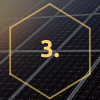 reduce carbon footprint with Domestic solar panels